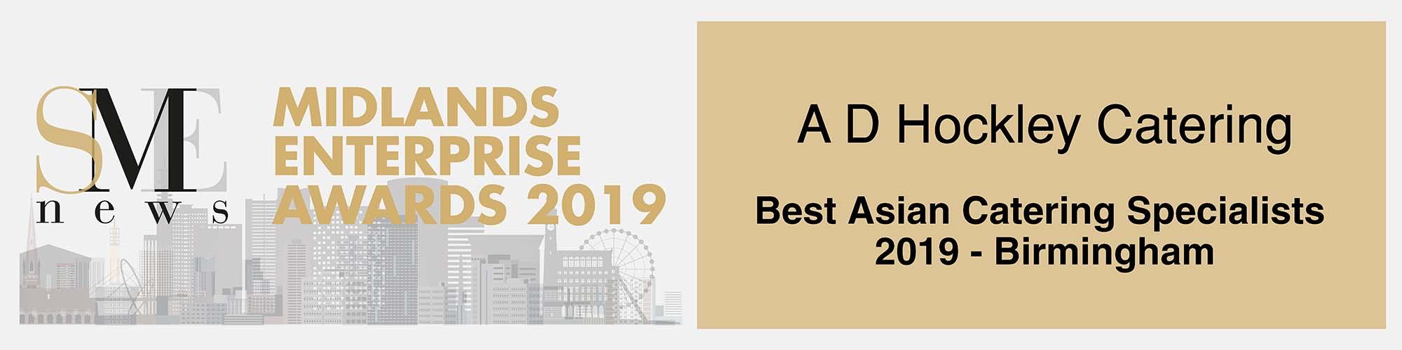 UK Midlands Awards Winners 2019 Banner